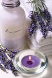 Fototapety Lavender spa