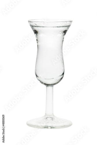 mała szklanka mocnego trunku