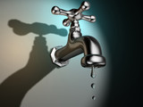 Dripping faucet poster