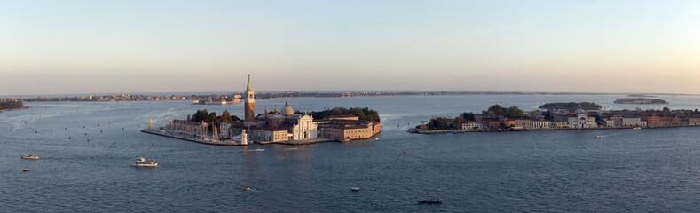 Venise - Vue sur l'ile de San Giorgio Maggiore