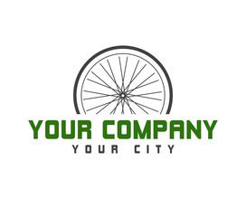 Logo - Fahrrad (grün)