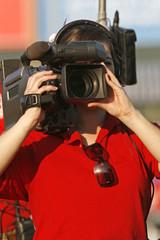 video camerawoman