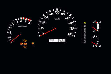 car dashboard 2