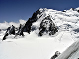 the way to the summit of the Mont Blanc poster