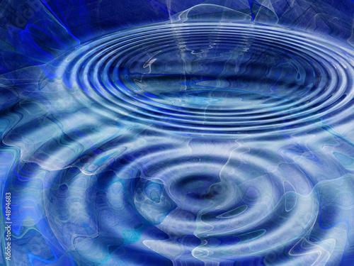 Foto op Plexiglas Fractal waves Abstract Graphic