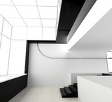 Fototapety New white office