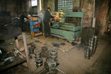 Lathe and the turner poster