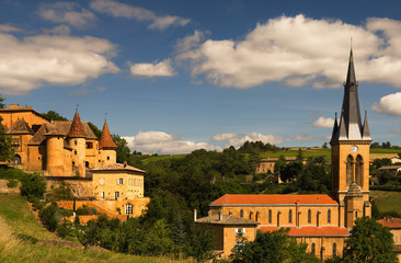 Beaujolais scenery