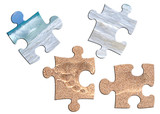 puzzle vacances poster