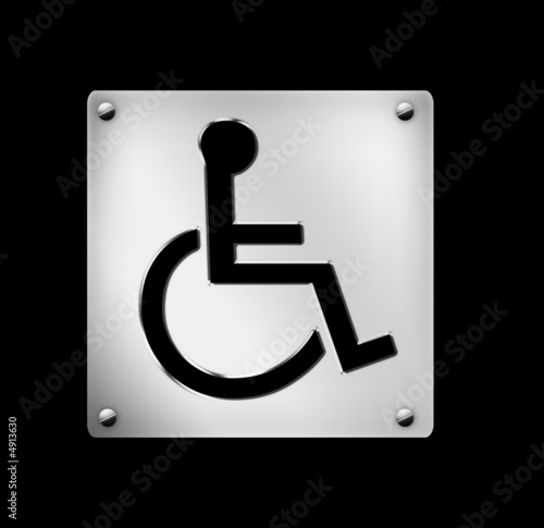 icon, wheelchair, hospitals, illustration