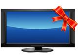 Cadeau Hi tech (écran plasma) poster