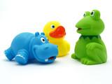 Fototapety plastic toys