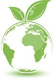 Planète terre, image vectorielle facilement modifiable ! poster