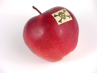 apple with poison
