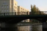 Brücke in St. Petersburg poster