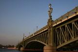 Dreifaltigkeitsbrücke (Troitskij Most)  St. Petersburg poster