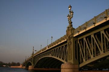 Dreifaltigkeitsbrücke (Troitskij Most)  St. Petersburg