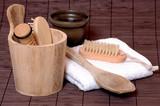 Wellness Sauna Beauty poster