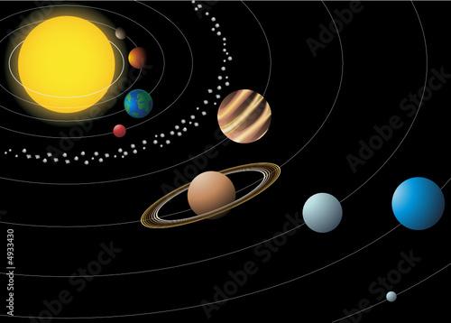 nine planet solar system 3d - photo #20
