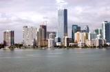 Miami Condo Skyline poster