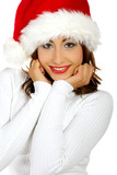 Fototapety christmas girl