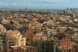 Cityscape of Barcelona 2 poster