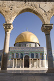 Dome of the Rock, viewed through arch