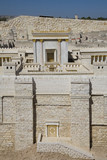 Model of the Second Temple, Israel Museum poster