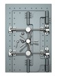 canvas print picture - Vault Door