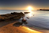 Fototapety Mediterranean sunrise