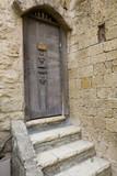 Door of artisan shop - Jaffa Israel poster