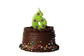 Birthday Cake - Sixth