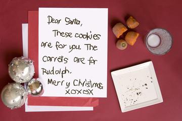 cookies for santa on christmas eve