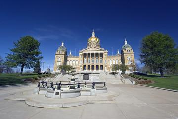Iowa, Des Moines - state capitol