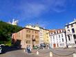 Grande place ensoleillée, Lyon