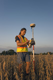 Land SUrveying with GPS poster