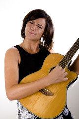 Woman with Guitar 7