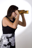 Woman with Beer Goggles 5 poster