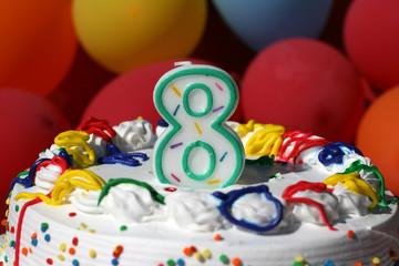 Birthday Cake - Eight