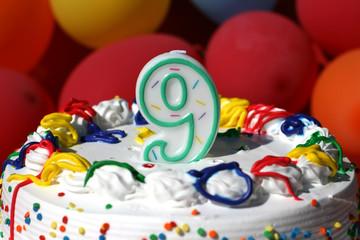 Birthday Cake - Nine