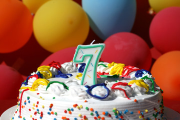 Birthday Cake - Seven