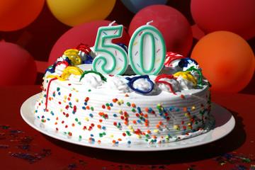 Birthday Cake - Fifty