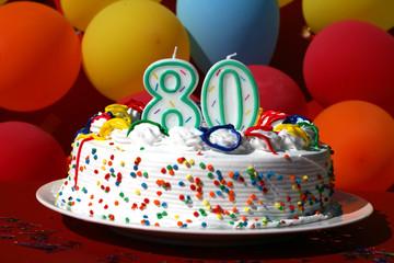 Birthday - Eighty