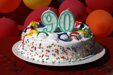 Birthday Cake - Ninety