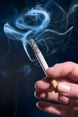 Lit Cigarette 3