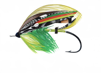 Green Highlander Classic Salmon Fly