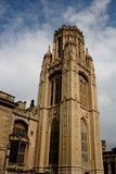 Bristol university tower poster