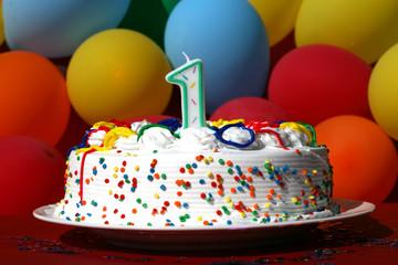 Birthday Cake - One