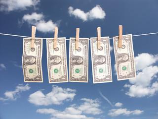 Laundry money