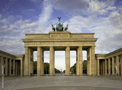 Aluminium Berlijn brandenburger tor
